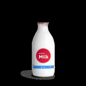 RED-milk_2pint glass bottle
