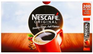 NESCAFÉ Original Instant Coffee, 200 Sachets x 1.8g