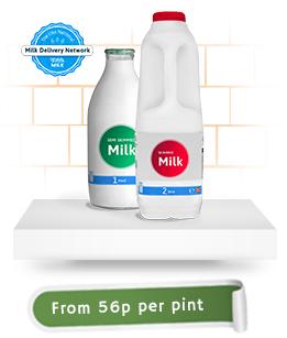 office milk on shelf