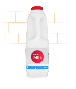 office milk delivery skimmed