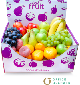 Manchester Office Fruit Delivery Box